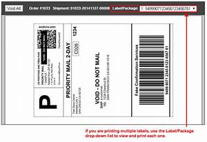Reference guide order processing working with orders for Create fake shipping label