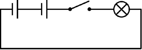 How Would Circuit Containing Battery With Dry Cells