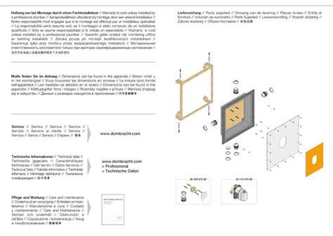 dornbracht tara montageanleitung dornbracht montageanleitung pdf dornbracht xtool thermostatmodul mit 2 ventilen 3552697090