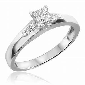 10k white gold wedding rings affordable navokalcom With 10k white gold wedding ring