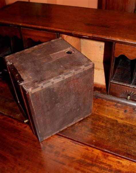 desk with hidden compartments 18th century chippendale slant front desk with secret