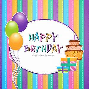 Happy Birthday | Animated Free Birthday Card For Facebook