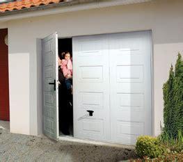 porte de garage basculante domeau concept