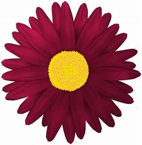 Red Flower Transparent PNG Clip Art Image - ClipArt Best ...