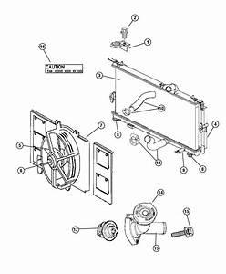 2007 Dodge Nitro Condenser  Air Conditioning  Plumbing