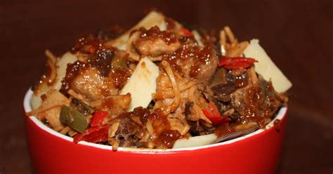 recette saute de porc caramelise facon pad thai
