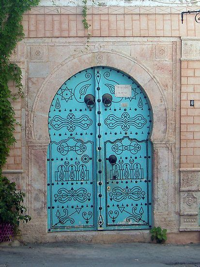 highly decorated  colourful doors