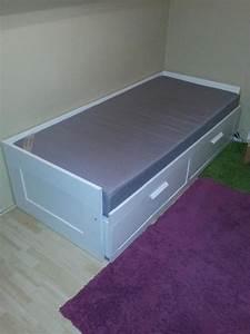Ikea Bett Ausziehbar : bett brimnes neu und gebraucht kaufen bei ~ Orissabook.com Haus und Dekorationen