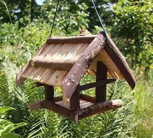 Vogelhaus Zum Hängen : vogelhaus aus naturholz ohne farbe ~ Orissabook.com Haus und Dekorationen