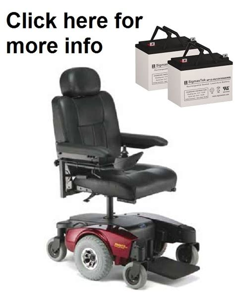 Pronto Power Chair Batteries by Invacare Pronto M61 Power Wheelchair Replacement Battery