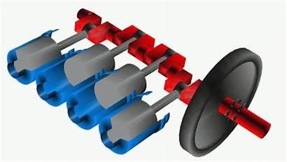 Engine Crankshaft Cylinder Inline Types Arrangement Durability