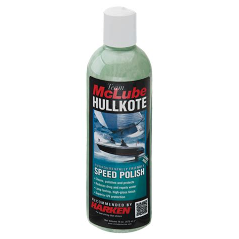 How To Polish A Fiberglass Boat Hull by Harken Mclube Speed Polish For Boats Repels Water Away