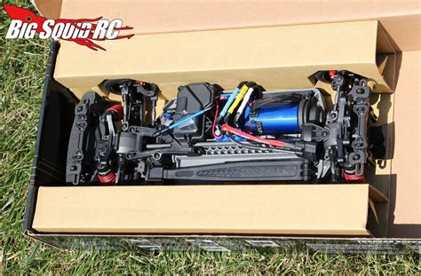 unboxing traxxas  tec  vxl rtr chassis set big