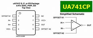 Ua741cp Datasheet - Operational Amplifier