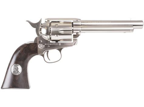 wayne colt co2 pellet revolver nickel 0 177 cal wayne single actio ebay