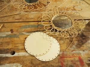 Miroir En Rotin : fabriquer son miroir en rotin milk decoration ~ Nature-et-papiers.com Idées de Décoration