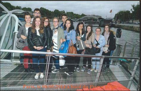 Bateau Mouche Groupe Scolaire by Voyage Scolaire 224 Paris Du 4 Au 9 Mai 2014 Projets Culturels