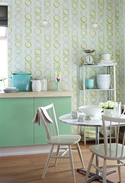 kitchen wallpaper green green kitchen wallpaper and photos 3465