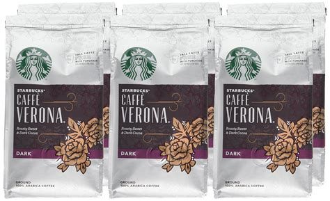 Also, it's a good way to save some bucks. Starbucks Verona Blend Ground Coffee 200 g (Pack of 6)- Buy Online in United Arab Emirates at ...