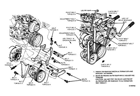 Ford Ltd Serpentine Belt Routing Timing Diagrams