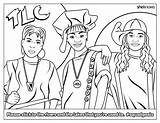 Coloring Power Cheers Squadgoals Empowerment Bustle sketch template
