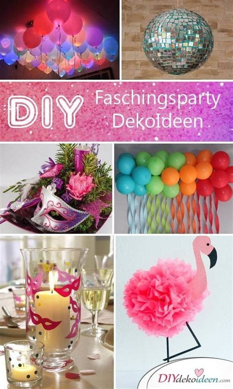 Fasching Deko Ideen by Diese Diy Fasching Partydeko Ideen Werden Dich Umhauen