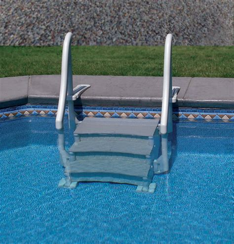 Above Ground Pool Steps For Decks Australia by Pool Steps