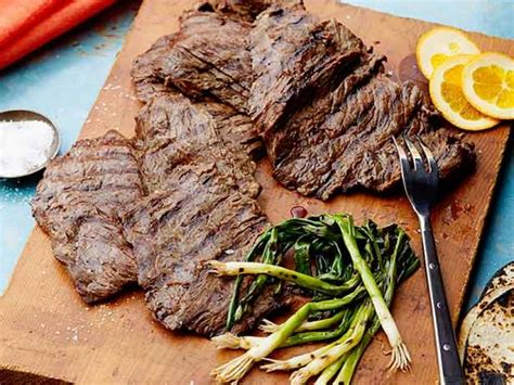 beer marinated grilled skirt steak recipe marcela