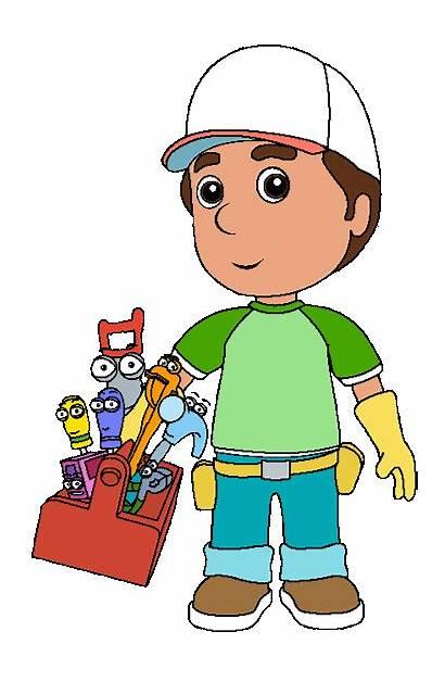 Manny Handy Clipart Obra Cartoon Disney Handymanny