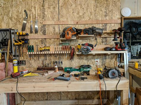 workbench cleaned  wiring cabinet insulated