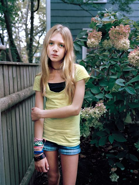 Lenfant Femme Photographing Girls On The Cusp Of Adolescence