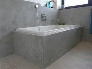 Beton Cire Bad : wand wohndesign beton cire beton cir bad in betonoptik ~ Indierocktalk.com Haus und Dekorationen
