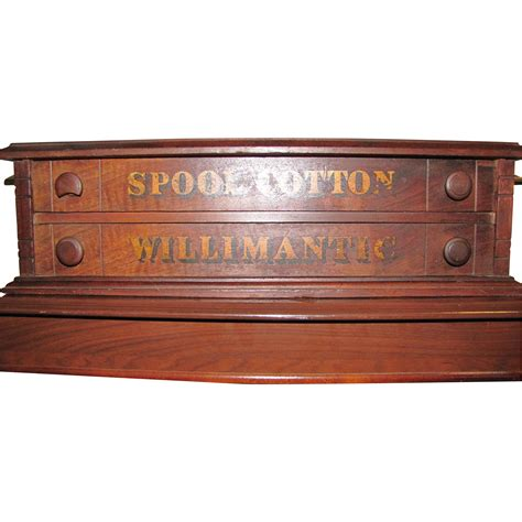willimantic spool cabinet sold on ruby