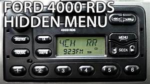 Ford 4000 Rds Radio Diagnostic Mode And Speakers Test