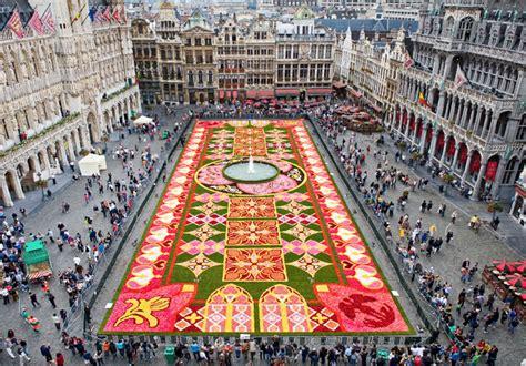 le tapis de fleurs un gigantesque tapis de fleurs le mag de flora