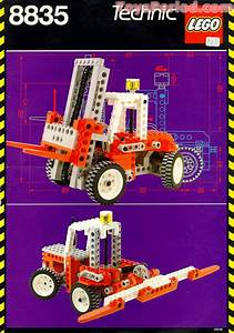 Lego 8835 Forklift Set Parts Inventory And Instructions