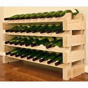 Casier Bouteille De Vin : modularack bois casier vin 36 bouteilles pin naturel cuisine maison des ~ Teatrodelosmanantiales.com Idées de Décoration