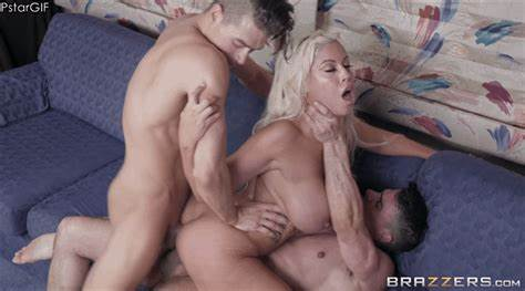 Double Penetration Action For Playful Bridgette