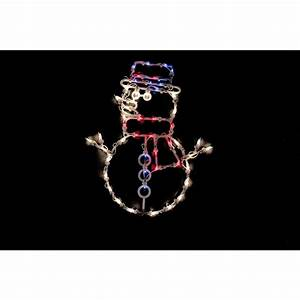 Northlight, 18, In, Christmas, Lighted, Snowman, Window, Silhouette, Decoration, 4-pack, -32631100