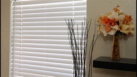 express cordless faux wood blinds youtube
