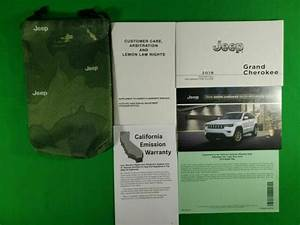 2019 Jeep Cherokee Owners Manual Book Set   Case All Trims