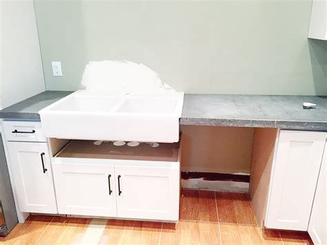 counter depth farmhouse sink base cabinet for farmhouse sink full size of kitchen