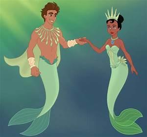 Naveen and Tiana mermaid maker by unicornsmile   Disney ...
