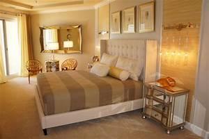 Schlafzimmer Weiß Gold : wandgestaltung mit farben ideen in gold und goldnuancen ~ Indierocktalk.com Haus und Dekorationen