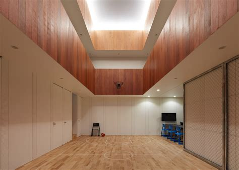 house  japan   indoor basketball court