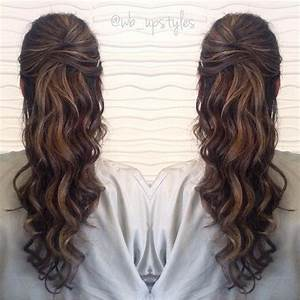 half up half down prom hairstyle | Prom Hairstyles ...