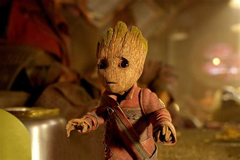 Wallpaper Baby Groot, Guardians Of The Galaxy Vol 2