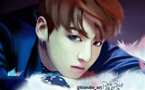 jungkook anime art jungkook bts wings fanart bybialobo by bialobo on deviantart