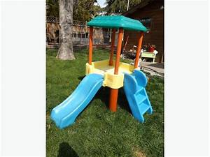 Little Tikes Toys Outdoor Treehouse Climber with Slide ...