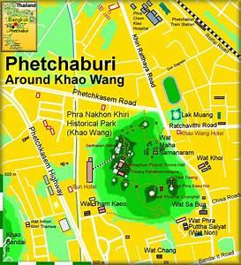 Phetchaburi Maps